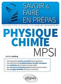 Physique Chimie Mpsi