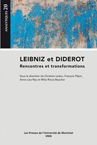 Leibniz et Diderot : Rencontres et transformations