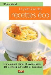 Petit livre des recettes éco