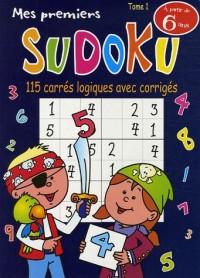 Mes premiers Sudoku : Tome 1, 115 Carrés logiques avec corrigés