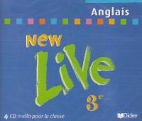 New live : 3e, pour la classe (CD audio)