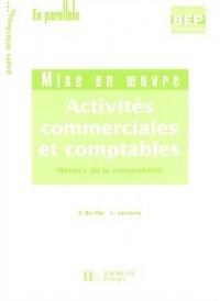 Activités commerciales et comptables Terminale BEP comptabilité 2 volumes