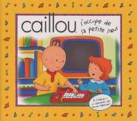Caillou s'occupe de sa petite soeur