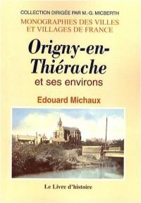 Histoire d'Origny-en-Thiérache et de ses environs