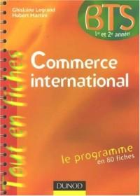 Commerce international BTS 1e et 2e années