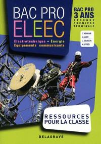 Electrotechnique bac pro eleec ressources pour la classe CD ROM