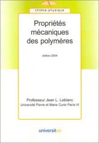 Propriétés mécaniques des polymères, édition 2004
