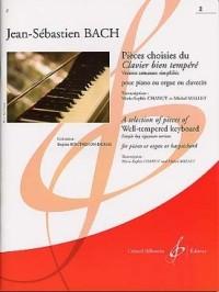 Pieces Choisies du Clavier Bien Tempéré Volume 2