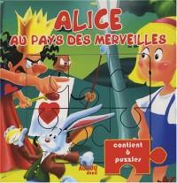 Alice aux pays des merveilles : Livre puzzles