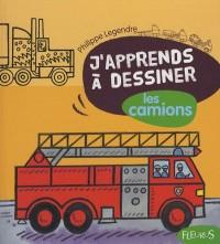 J'apprends à dessiner les camions : Avec un bloc de papier Canson