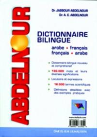 ABDELNOUR : Dictionnaire Bilingue Arabe-Français / Français-Arabe