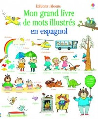 Mon grand livre de mots illustrés en espagnol