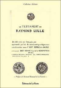 Le Testament de Raymond Lulle