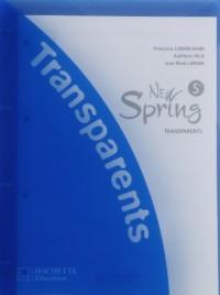 New Spring Anglais 5e Lv1 - Transparents - Edition 2007