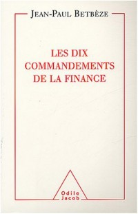 Les Dix Commandements de la finance