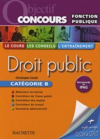Droit public Catégorie B