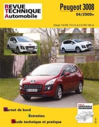 Rta B752 Peugeot 3008 1.6/2.0 Hdi Depuis 04/2009