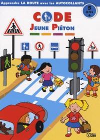 Code jeune piéton : Apprendre la route avec les autocollants