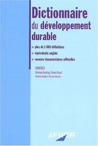 Dictionnaire du développement durable