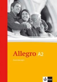Allegro 2. Grammatische Zusatzübungen. Mit Lösungen