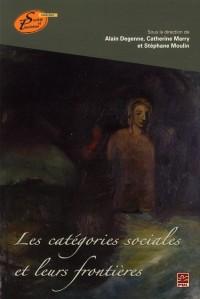 Categories Sociales et Leurs Frontieres