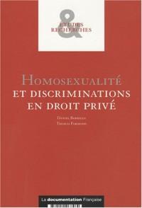 Homosexualité et discrimination en droit privé