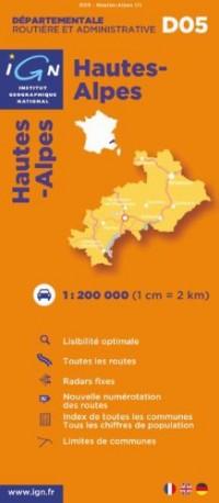 Hautes-Alpes : 1/200000