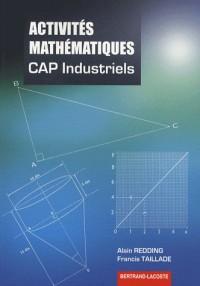 Activités mathématiques CAP Industriels
