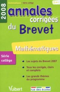 Mathématiques : Annales corrigées du Brevet