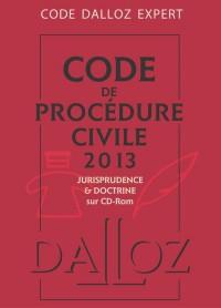 Code dalloz expert. code de procedure civile 2013 - 9e ed.