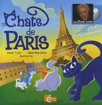 Chats de Paris (Livre avec un CD audio, 12 chansons)