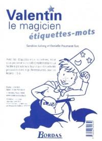ETIQUETTES MOTS COLLECTIVES VALENTIN MAGICIEN 2006