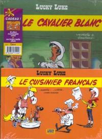 Lucky Luke, 2 BD pour le prix d'une : Le Cavalier Blanc - Le Cuisinier français (gratuit)