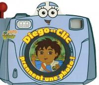 Diego et Clic prennent une photo