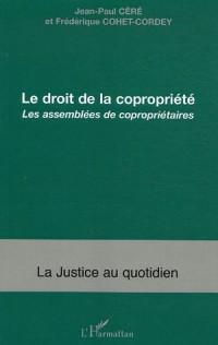 Le droit de la copropriété : Les assemblées de copropriétaires