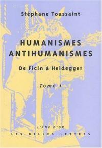 Humanismes/Antihumanismes