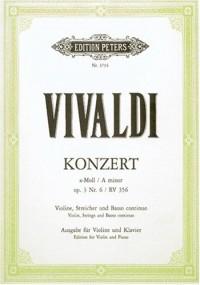 Vivaldi : concerto op 3 n° 6 RV 356 - violon