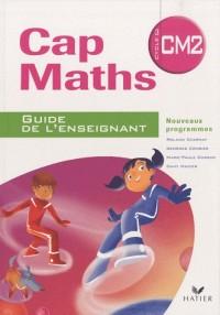 Cap Maths; CM2 ; cahier de géométrie-mesure ; guide de l'enseignant (édition 2010)