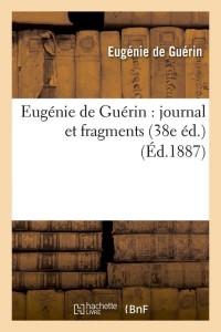 Eugenie de Guerin  38e ed  ed 1887