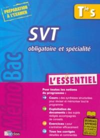 SVT Tle S Obligatoire et spécialité : L'essentiel