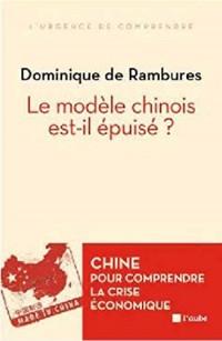 Le modèle chinois est-il épuisé ?