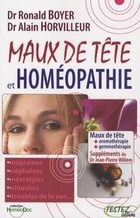 Maux de tête et homéopathie : Suppléments phytothérapie, aromathérapie, gemmothérapie, oligo-éléments, etc.