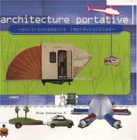 Architecture portative : Environnements imprévisibles