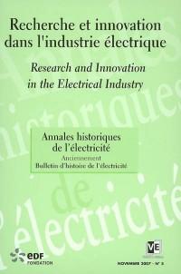 Annales historiques de l'électricité 2007 N5