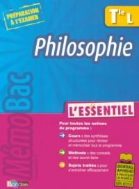 Philosophie Tle L : L'essentiel