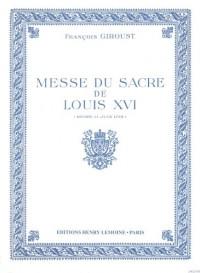 Messe du Sacre de Louis XVI (Messe brève)