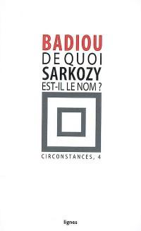 De quoi Sarkozy est-il le nom ?