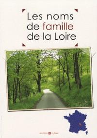 Les noms de famille de la Loire