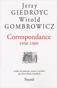 Correspondance 1950-1969