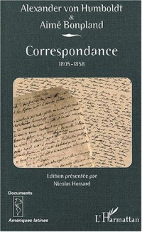 Correspondance 1805-1858